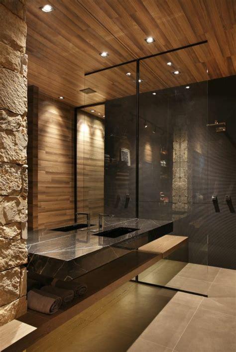 salle de bain en bois 1001 id 233 es pour cr 233 er une salle de bain nature