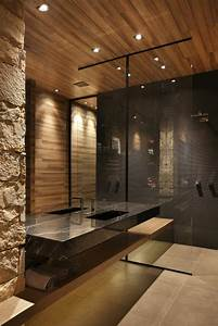 Salle De Bain En Bois : 1001 id es pour cr er une salle de bain nature ~ Teatrodelosmanantiales.com Idées de Décoration