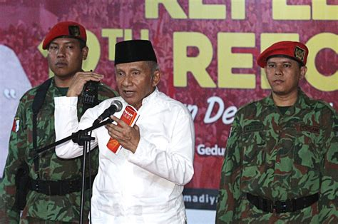 Amien Rais Ready Explain From Soetrisno Bachir