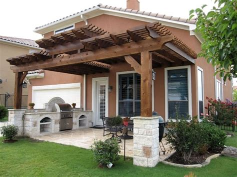 Patio Structures Ideas, Wood Patio Cover Ideas Backyard