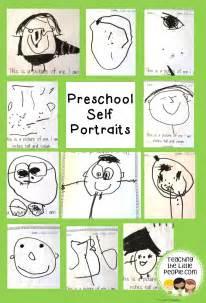 Preschool Self-Portraits