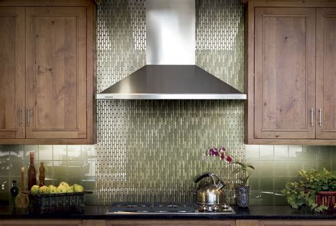 green tile backsplash kitchen green glass tiles for kitchen backsplashes kitchentoday