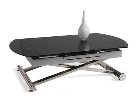 table de cuisine extensible acheter votre table basse relevable et extensible dessus