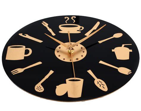 horloge moderne cuisine déco cuisine horloge