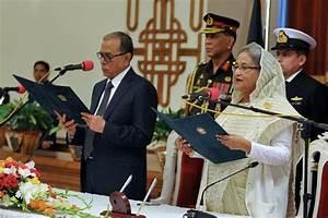 Bangladesh Prime Minister Sheikh Hasina sworn in after ...