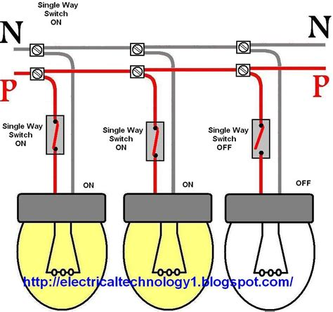 Wiring Light Switch Control Each Lamp Separately