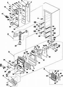For Samsung Refrigerator Rs2530bbp Wiring Diagram