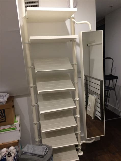Parts Of A Closet by Parts 3 Of The Stolmen Closet System Perfectly Installed