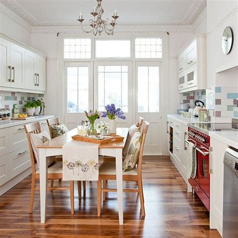 country kitchens photos white country kitchen with hi gloss floor and shaker style 3635