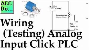 Wiring Testing Analog Plc Input Click