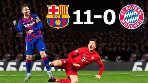 Barcelona vs Bayern Munich 11-0 ⚽ Full HD - ShareonSport.com