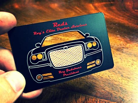 automotive business cards business card tips