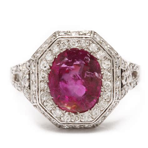 a la vieille russie deco ruby and ring faberge antique jewelry