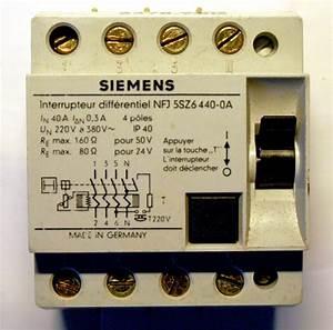 Type A Ou Ac : branchement lectrique interrupteur diff rentiel ~ Dailycaller-alerts.com Idées de Décoration