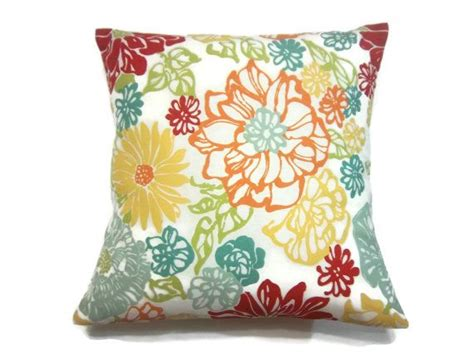 Decorative Pillow Cover Red Orange Tangerine Olive Green How To Decorate Living Room Wall Shelves Mirrors Sectional Center Table For Beds Royal Blue Furniture And Dining Packages Hanging Lamps