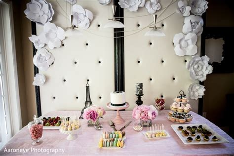 chanel themed indian bridal shower  aaroneye photography