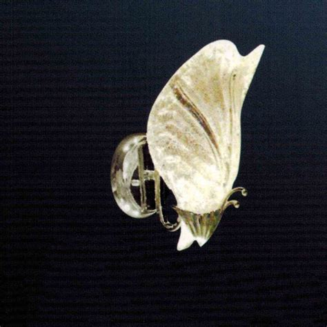 brizzo lighting stores 8 quot leaf melted glass wall sconce