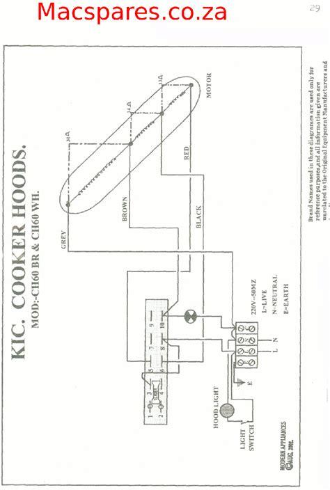 Ceramic Hob Wiring Diagram