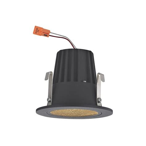 2 inch recessed lights cone trim led recessed module for 2 inch cans black
