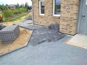 Unterbau Terrasse Pflastern : die terrasse ist fast fertig schicker friese ~ Whattoseeinmadrid.com Haus und Dekorationen