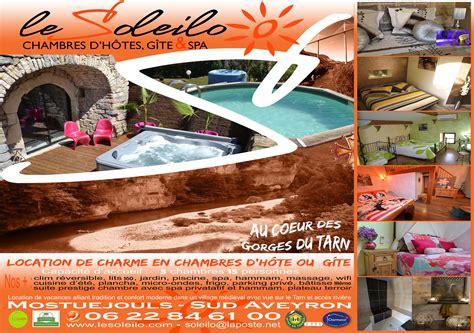 chambres d hotes aveyron avec piscine hébergement insolite sud aveyron chambre avec spa privatif