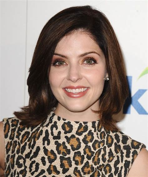 jen lilley medium straight formal hairstyle hairstyles