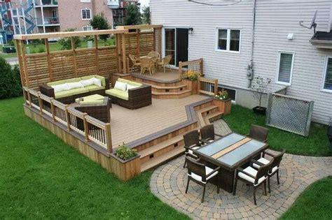 deck porch privacy images  pinterest backyard patio outdoor ideas  outdoor spaces