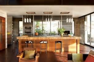 designs of kitchens in interior designing modern and warm kitchen interior design of the brown residence by craig schultz california