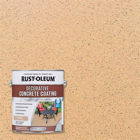 rust oleum decorative concrete coating rust oleum 1 gal decorative concrete coating 2