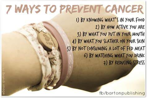 7 Ways To Prevent Cancer