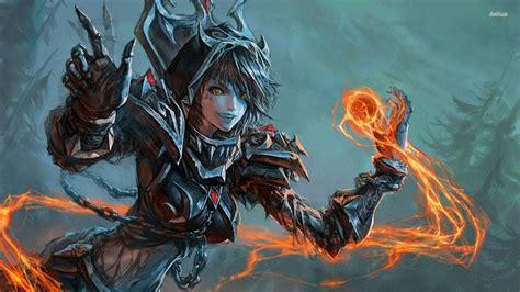 World Of Warcraft Warlock Wallpaper Blizzard Entertainment World Of Warcraft Wrath Of The Lich King Hd Wallpapers Pinterest