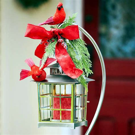 18 ideas for christmas decorations in the garden or on the
