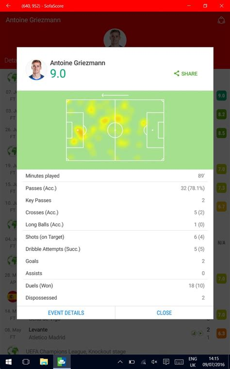 Find all live scores, fixtures and the latest news. SofaScore LiveScore - Live Scores and Results - Download
