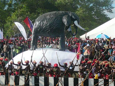 kuomboka ceremony   lozi people mongu zambia