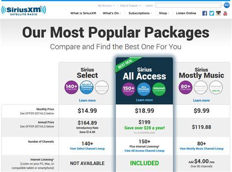 Getting a SiriusXM Discounts