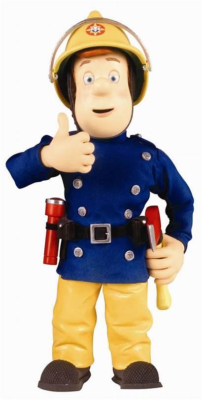Sam Fireman Coming Dad Brandweerman Toy Afkomstig