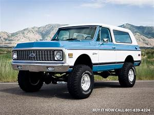 1972 Chevy K5 Blazer  400hp Vortec V8 W   Tpi Fuel