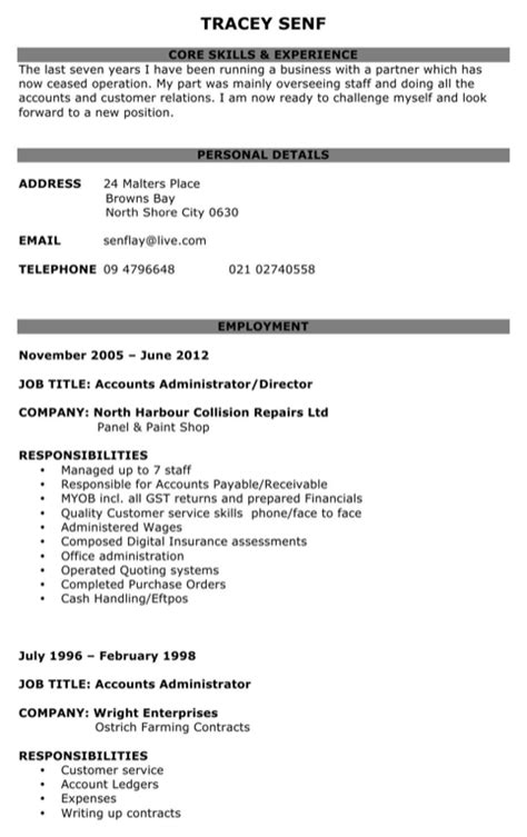 unemployed cv template for free formtemplate