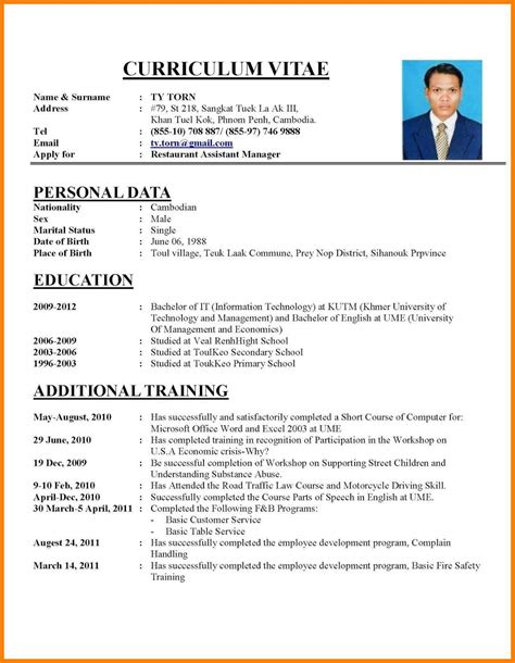 How To Write A Professional Cv Sles by Exle Professional Resume 12 Business Flyer