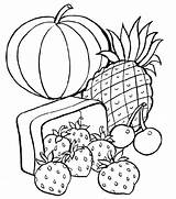 Coloring Pages Healthy sketch template