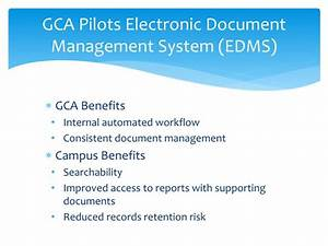 Ppt grant and contract accounting update powerpoint for E document management system