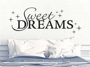 Wandtattoo Sweet Dreams : sweet dreams no 4 wandtattoo von klebeheld ~ Whattoseeinmadrid.com Haus und Dekorationen