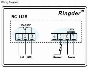 Digital Temperature Controller Regulator With Thermostat