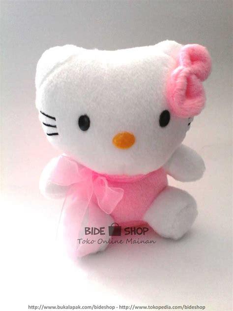 Bantal Imut Hello jual boneka hello baju pink imut dan lucu bide
