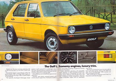 volkswagen golf 1980 ausmotive com 187 volkswagen golf brochure 1980