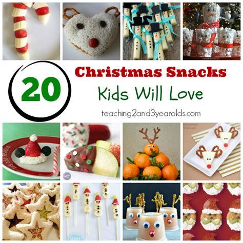 holiday snacks for preschoolers 20 snacks will 195