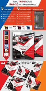 Rent A Car Flyer Template Vol