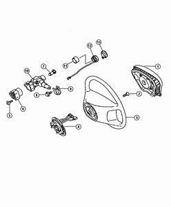Chrysler Crossfire Wheel  Steering  Trim   Leather Trimmed