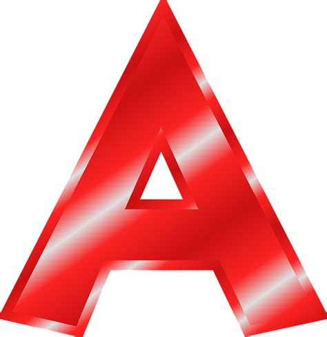 letter a png alphabet a abc 183 free vector graphic on pixabay 37457