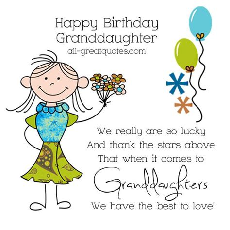 Happy birthday wishes for granddaughter. Pin on The sweet heart place.
